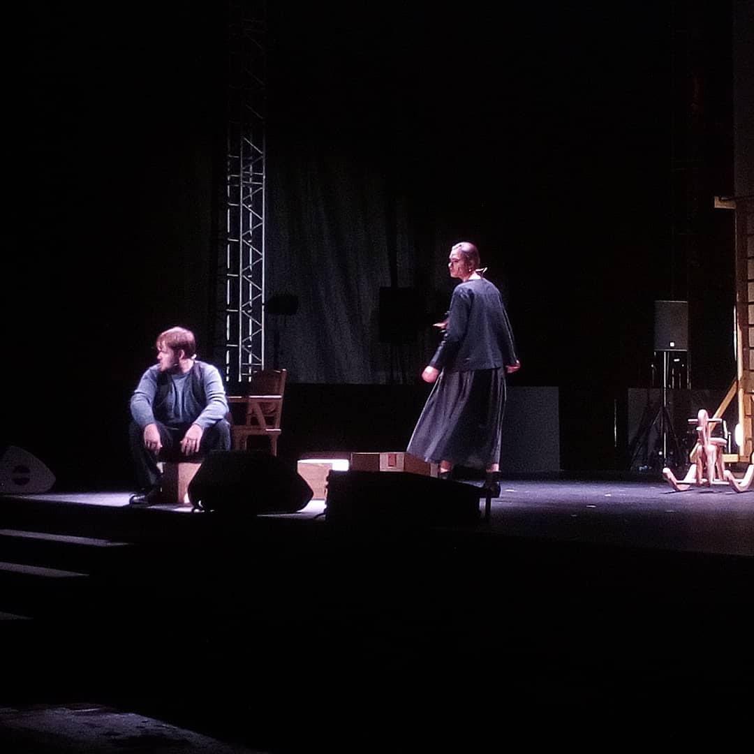 «Театр на Спасской» сыграл спектакль в лесу Чепыж