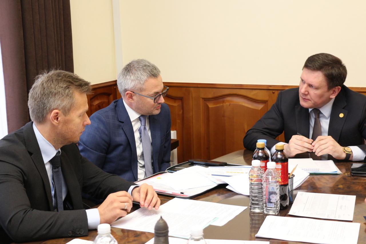 В Кировской области обсудили вопрос погашения задолженности теплоснабжающих организаций за газ