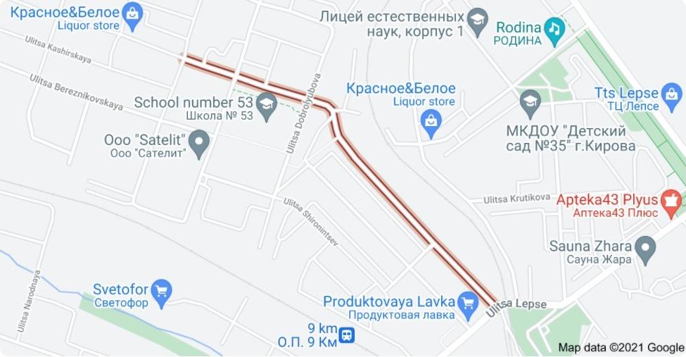На ул. Шинников будет временно ограничено движение