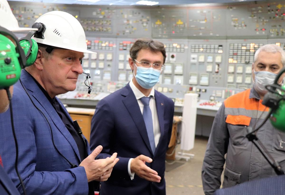 Губернатор Кировской области Игорь Васильев поблагодарил сотрудников «Т Плюс» за труд