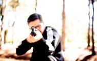 Житель Верхошижемья подозревается в стрельбе по детям из пневматической винтовки