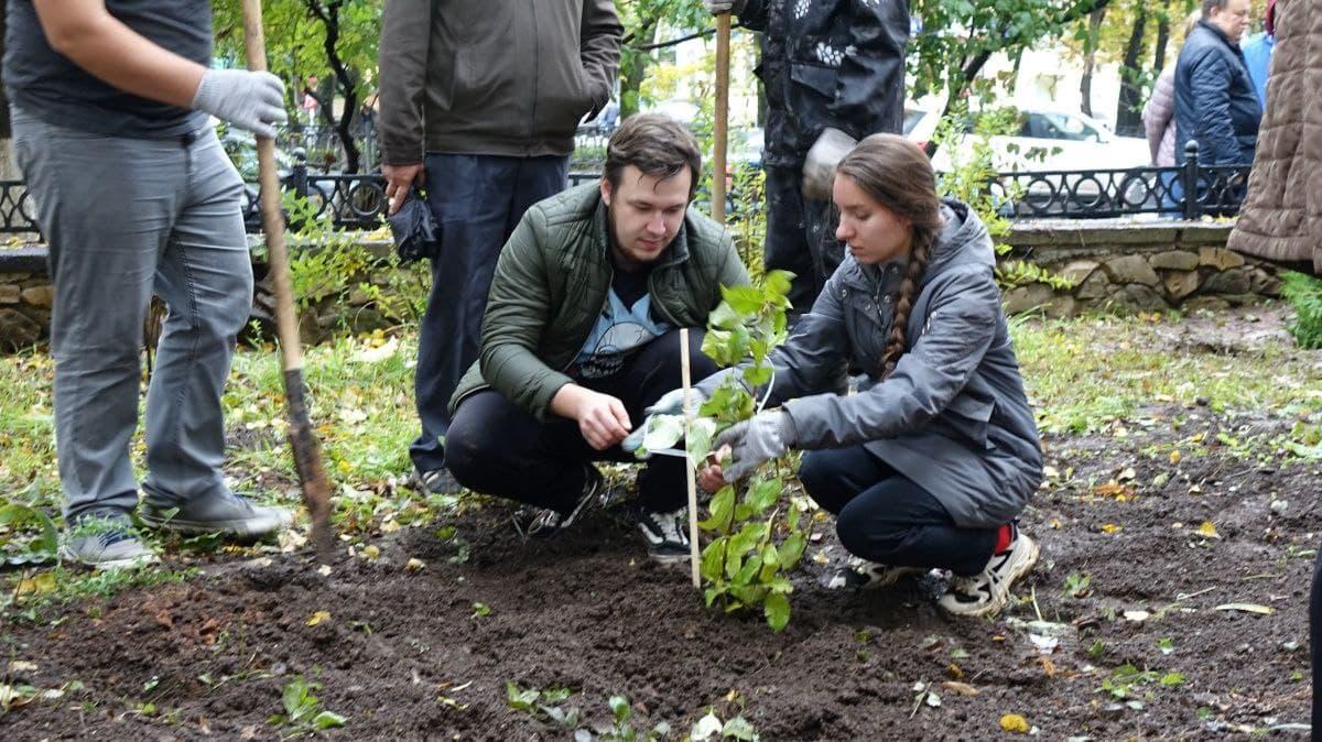 "В Кирове заложили ""Сад памяти"""