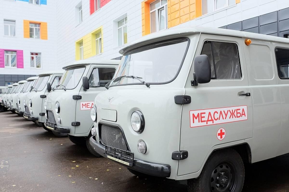 Кировская область получила 21 автомобиль «Медицинская служба»