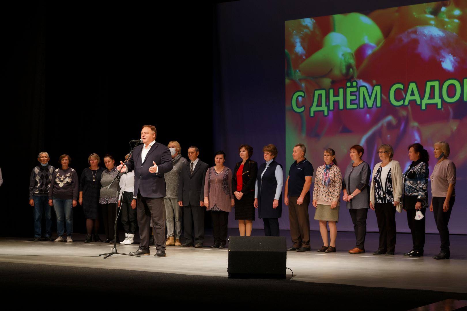 Ветераны Ленинского района отпраздновали День урожая