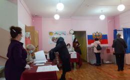 В Кирово-Чепецке проходят выборы. Фоторепортаж с одного из участков
