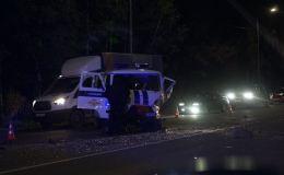 Известны подробности ДТП с полицейской машиной на дамбе