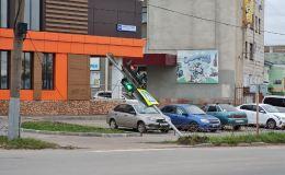 Еще один светофор в Кирове пал