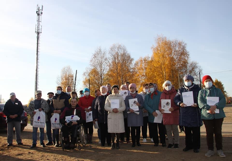 Три деревни в Кикнурском районе вышли в сеть