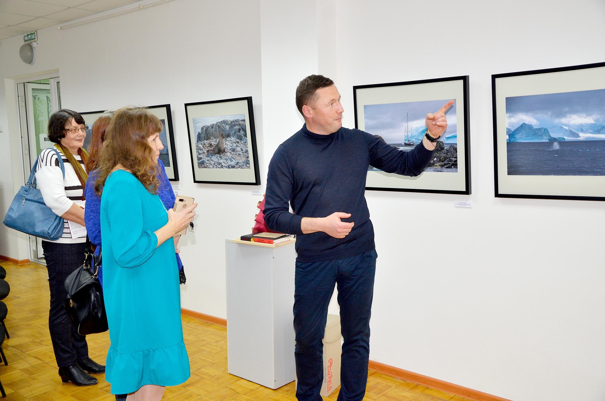 Житель Кирово-Чепецка побывал в путешествиях по Арктике, Антарктиде и Чукотке: об этом его выставка