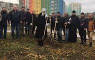 В Кирове продолжается озеленение микрорайона Озерки