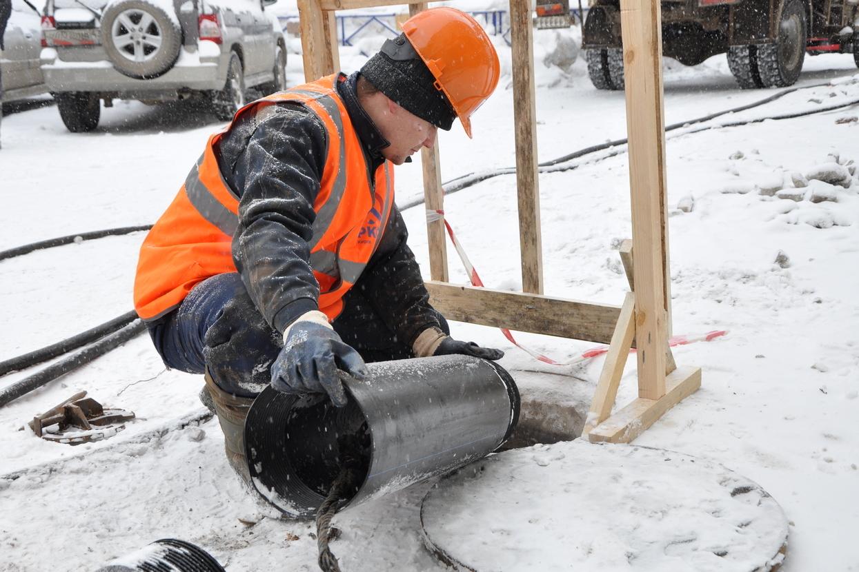ККС обновляют канализацию в Кирове