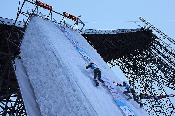В Кирове прошёл чемпионат Европы и Кубок мира по ледолазанию