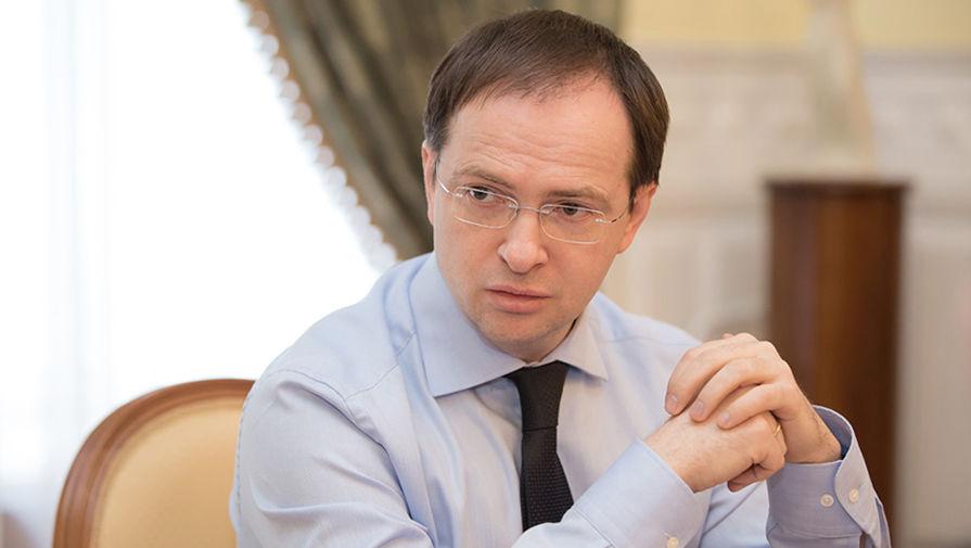 Владимир Мединский прилетит в Киров завтра после 11 часов