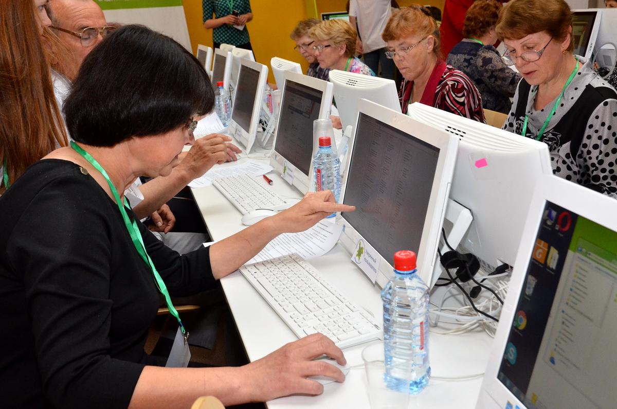 В районных чемпионатах по компьютерному многоборью приняли участие более 70 человек