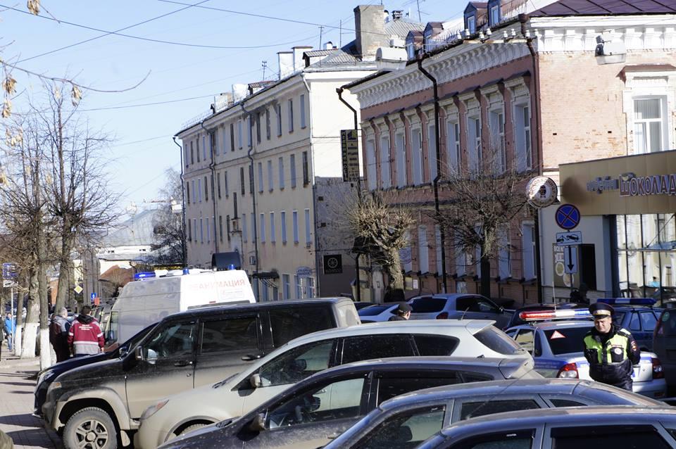 В центре Кирова эвакуировали «Шоколадницу»