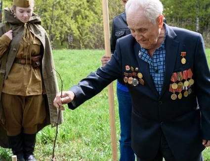 В Кировской области стартует очередной этап движения «Сады Победы»