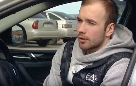 Олимпиец Алексей Червоткин приехал в Киров на авто, которое ему вручил Медведев