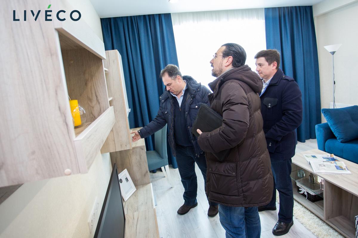 Мебель LIVECO в квартирах от Кировского ССК оценила делегация из Испании
