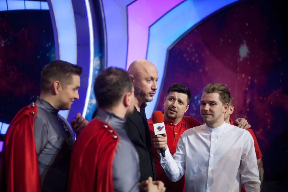 Команда «Вятка» выиграла четвертьфинал Высшей лиги КВН