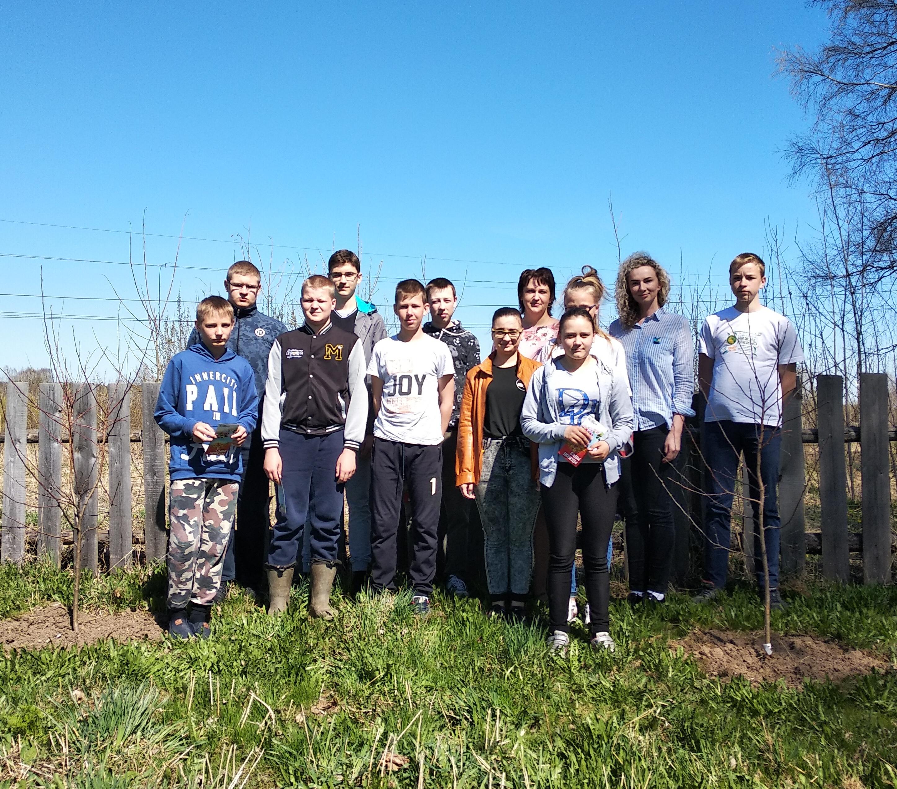 Сады Победы зацветут в Угоре