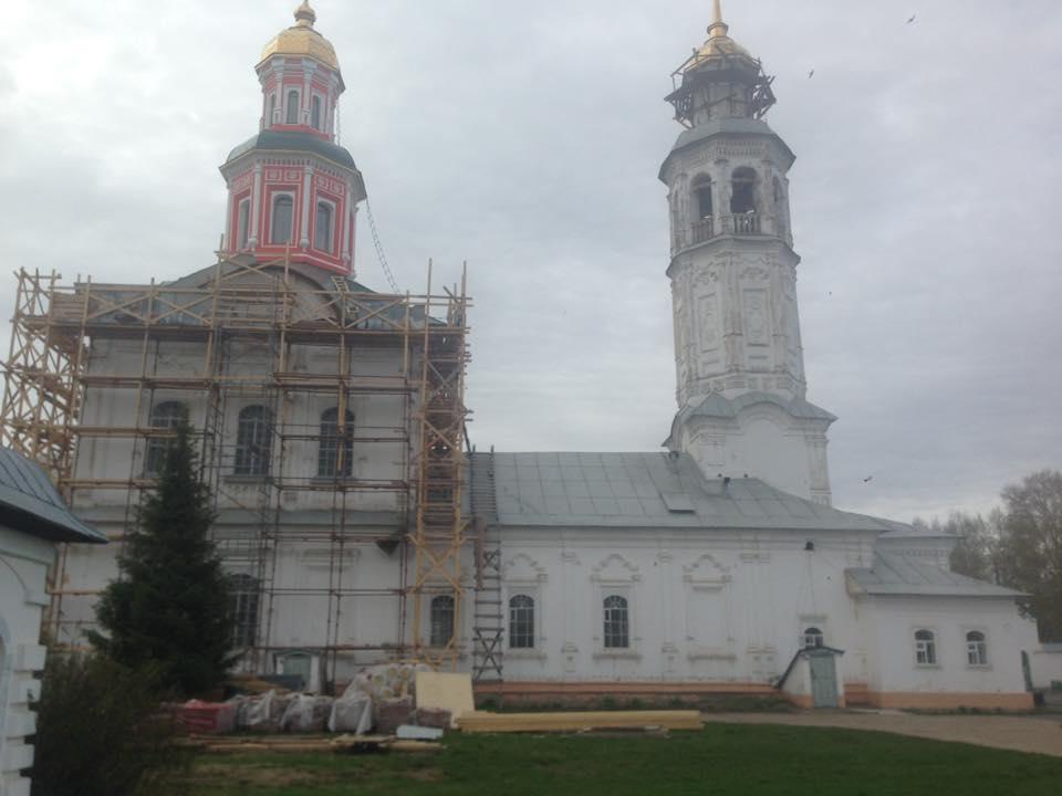Кировчане могут принять участие в реставрации Троицкого храма