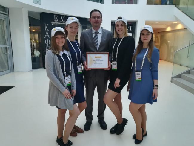 Команда кировских студентов вошла в число лучших в финале Всероссийского конкурса Enactus-2018