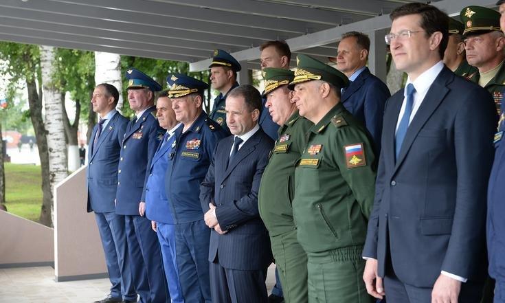 Кировская команда приняла участие в  открытии оборонно-спортивного лагеря ПФО «Гвардеец»