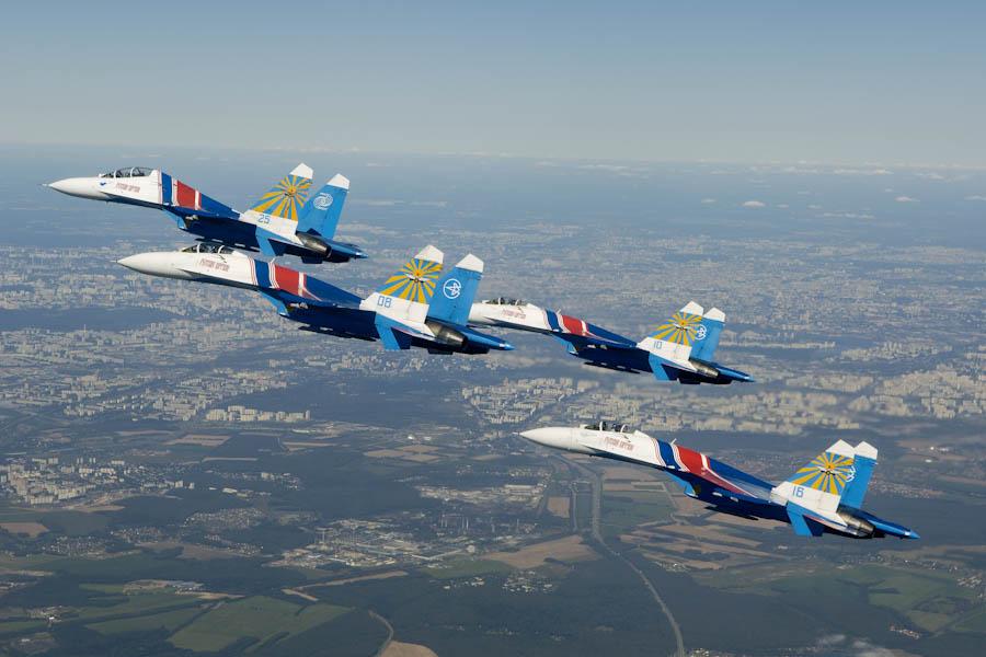 В Кирове впервые выступит пилотажная группа «Русские витязи»