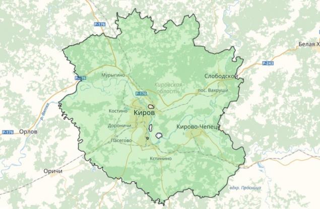 В Кировской области появится самый крупный в России «зеленый щит»