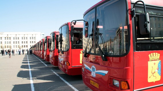 Кировские автобусы уехали на Чемпионат мира по футболу в Нижний Новгород