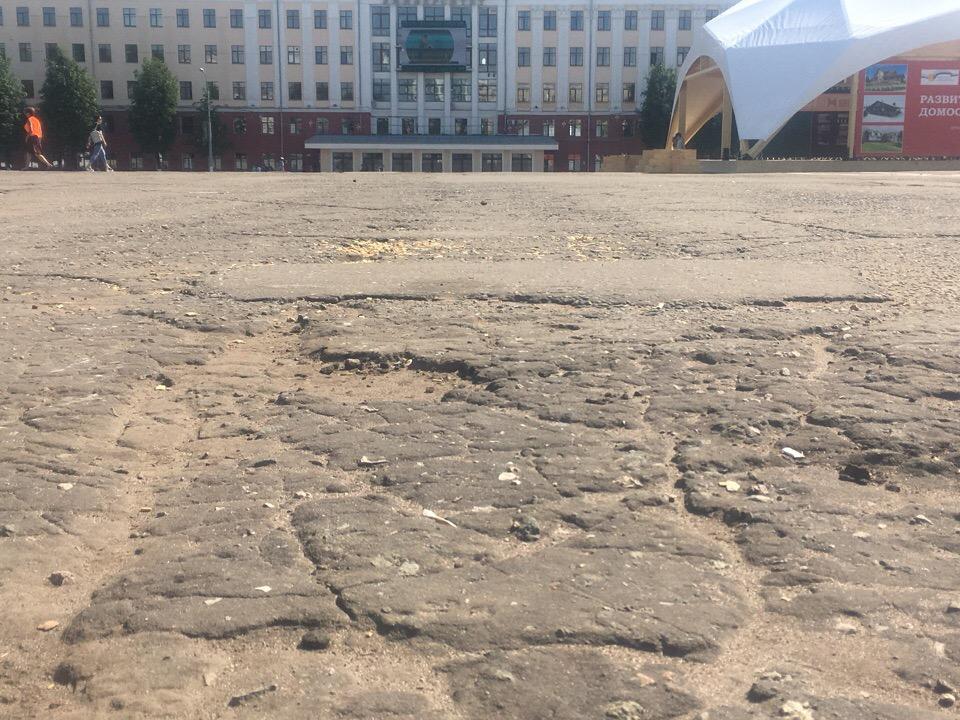 Власти Кирова потеряли документы на собственность главной площади города?