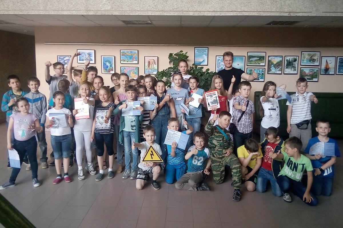 Юным кировчанам дали урок энергобезопасности
