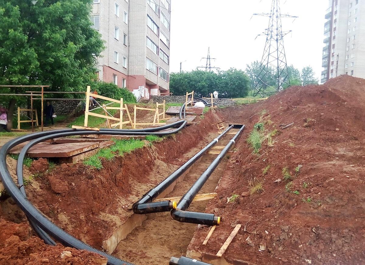 В Кирове заменят более 26 километров теплотрасс