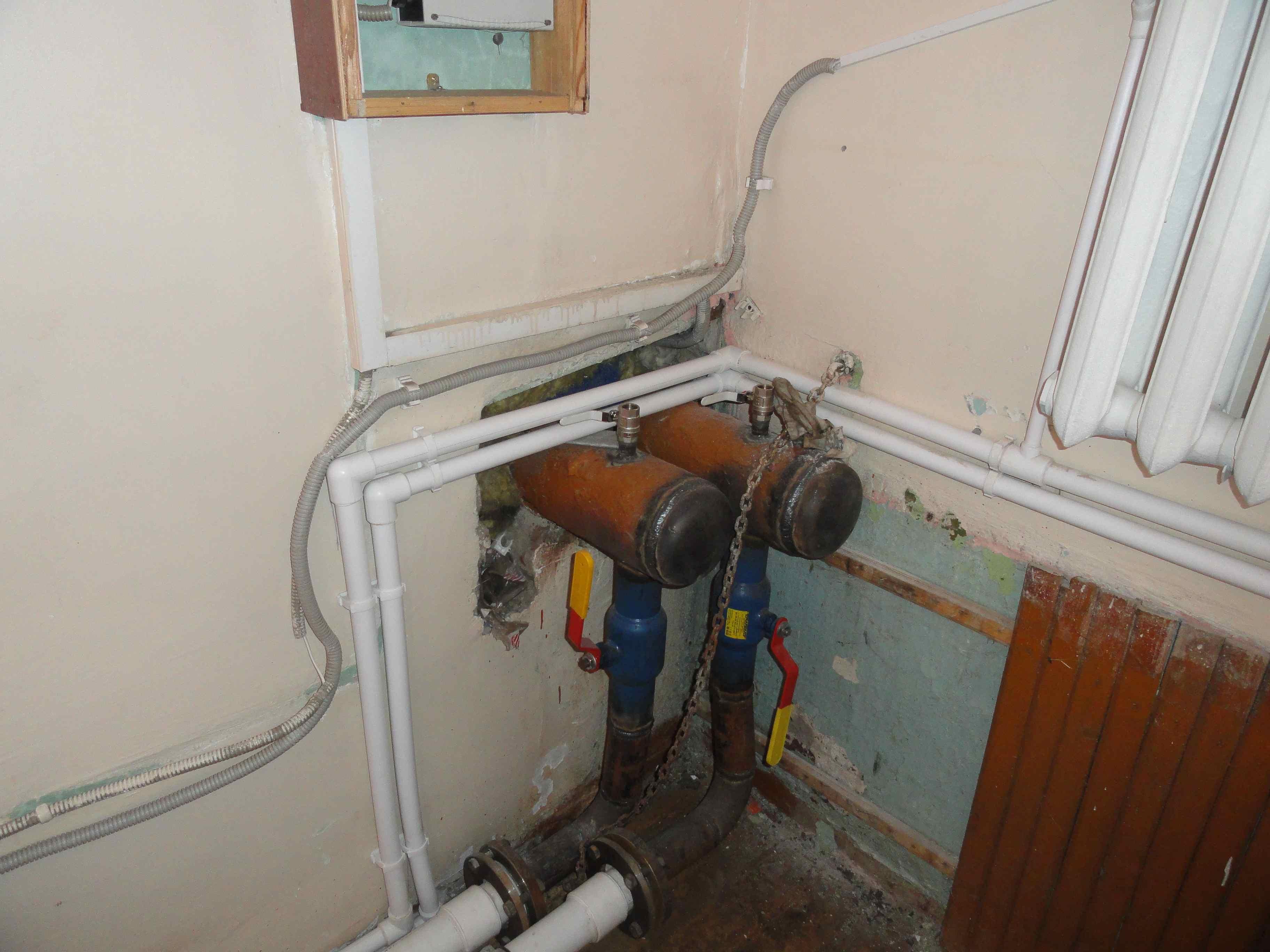 Отопление в школе в поселке Рудничном Кировской области придется ремонтировать заново