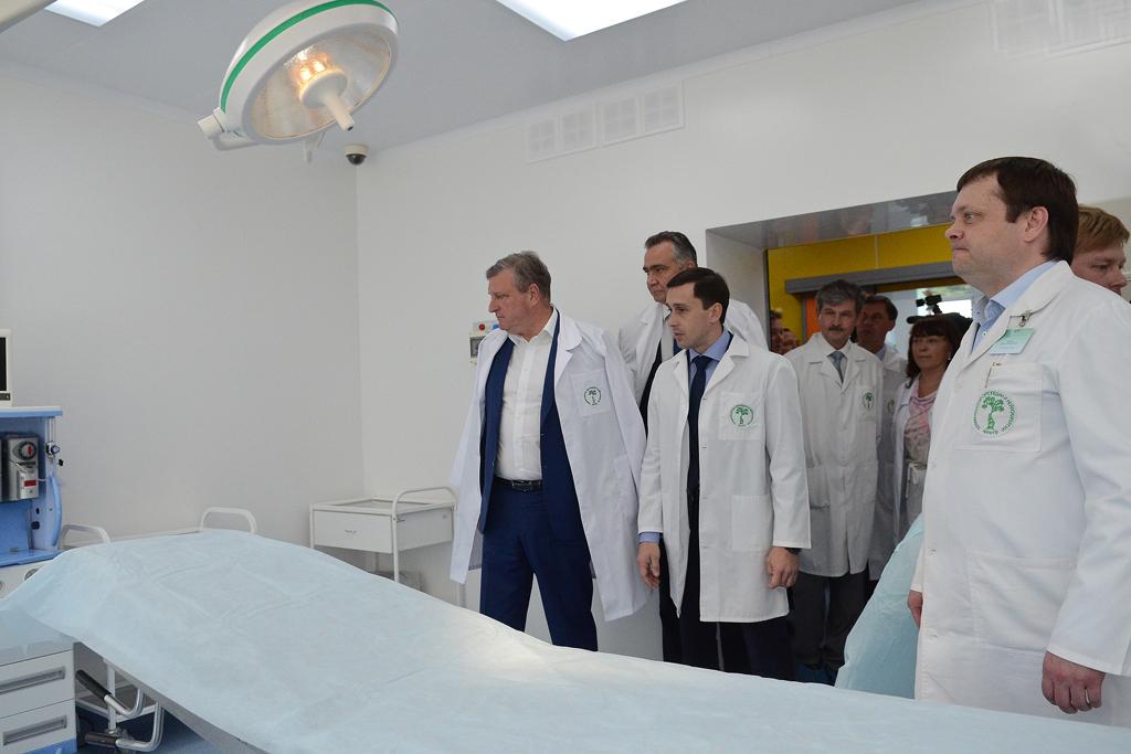 Операционные Центра травматологии, ортопедии и нейрохирургии отремонтировали по стандартам ведущих федеральных клиник