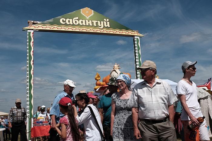 На Сабантуй в Вятские Поляны съехались 10 тысяч участников