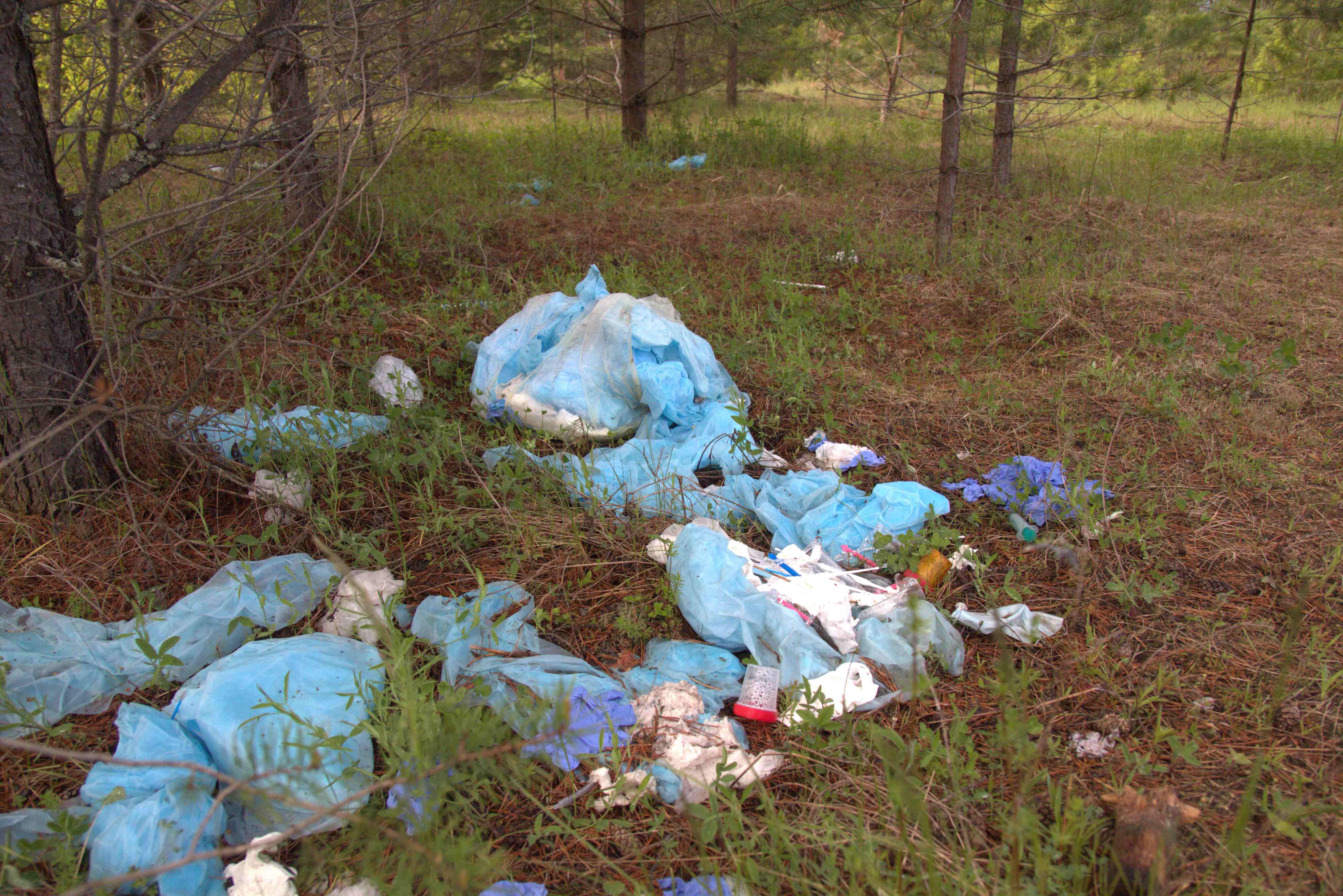 Свалку отходов женской консультации в Башарово ликвидировали спустя 9 месяцев