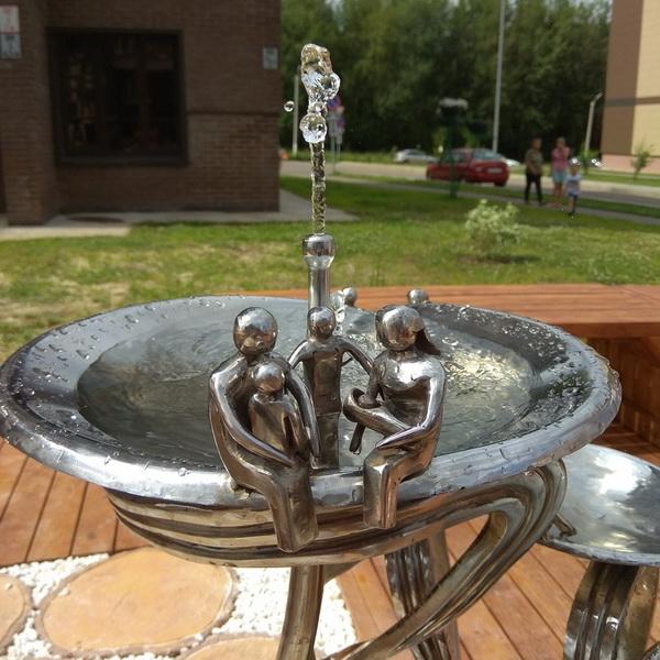 В «Метрограде» появился питьевой фонтан