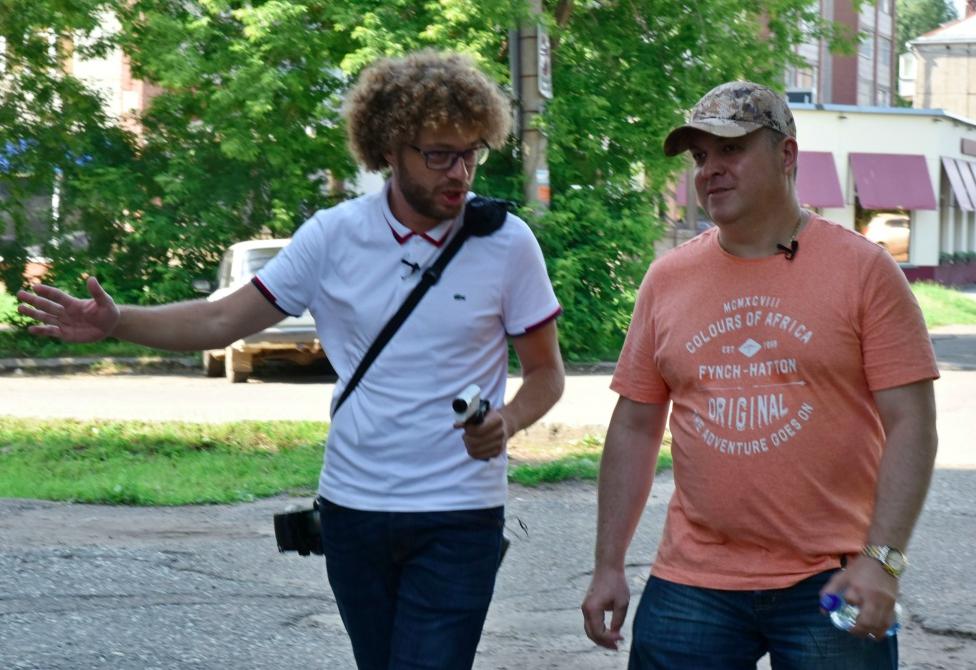 Жители Нововятского района не поверили, что перед ними Илья Шульгин