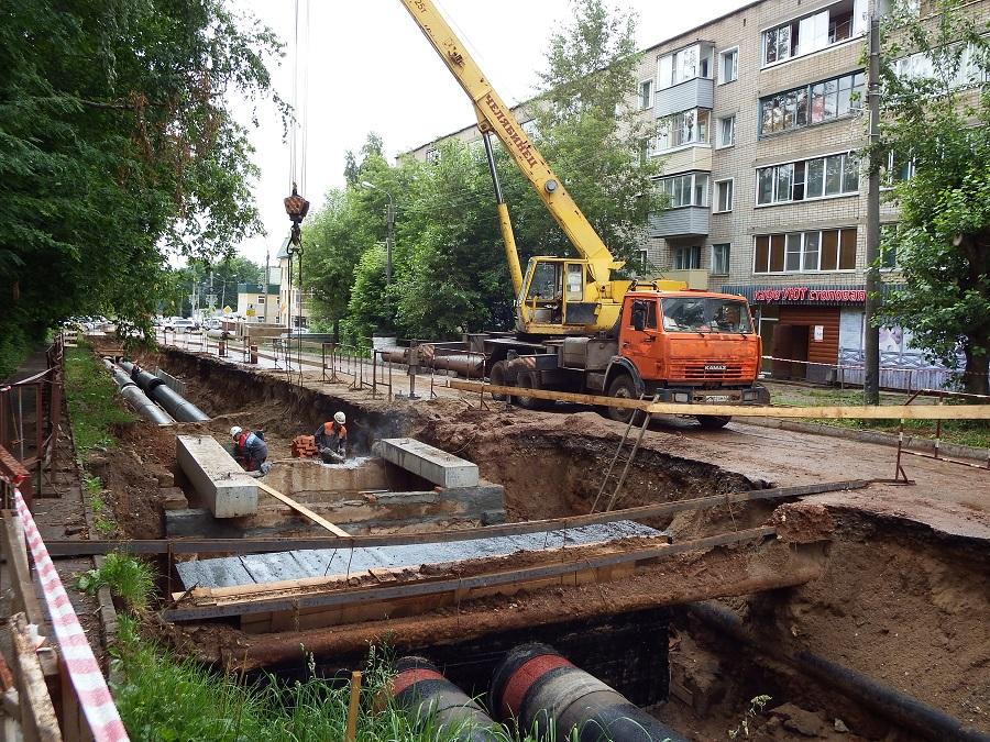 КТК завершила реконструкцию 4 участков теплосетей в Кирове