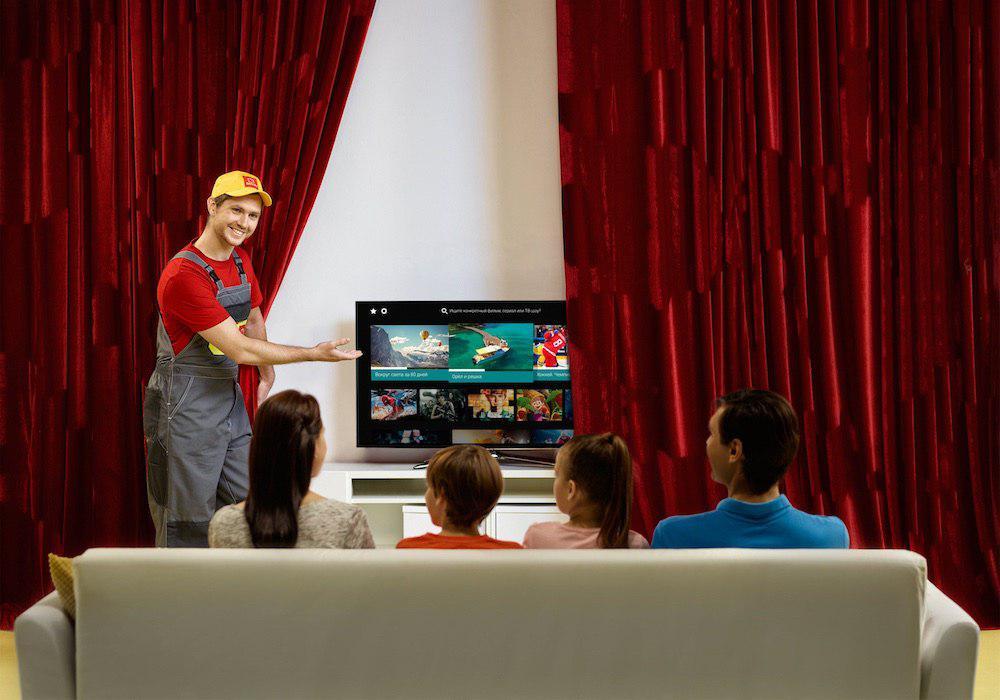 Дом.ru» запустил первое приложение для SmartTV