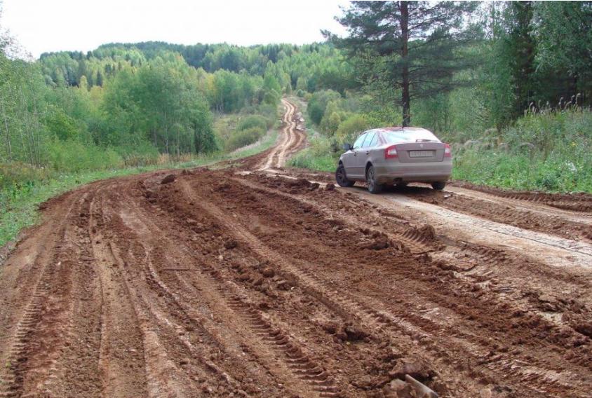 В Удмуртии не планируют асфальтировать дорогу на Киров