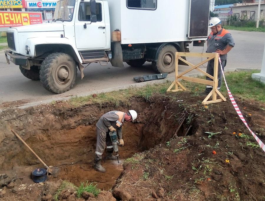 КТК возобновила горячее водоснабжение 120 жилых домов