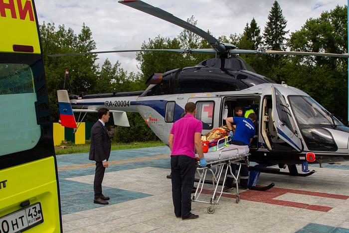 В Кирове открыли еще одну вертолетную площадку для санавиации