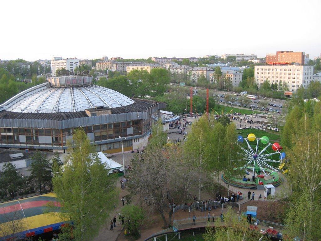 Парк у цирка могут отдать в концессию