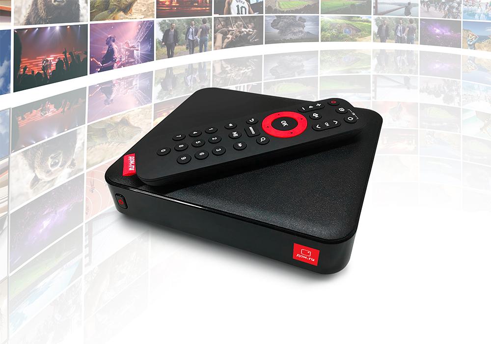 «Дом.ru» запустил первую ТВ-приставку c Wi-Fi