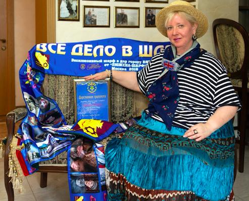 «Дом Шляп» в Вятских Полянах получил пятиметровый шарф