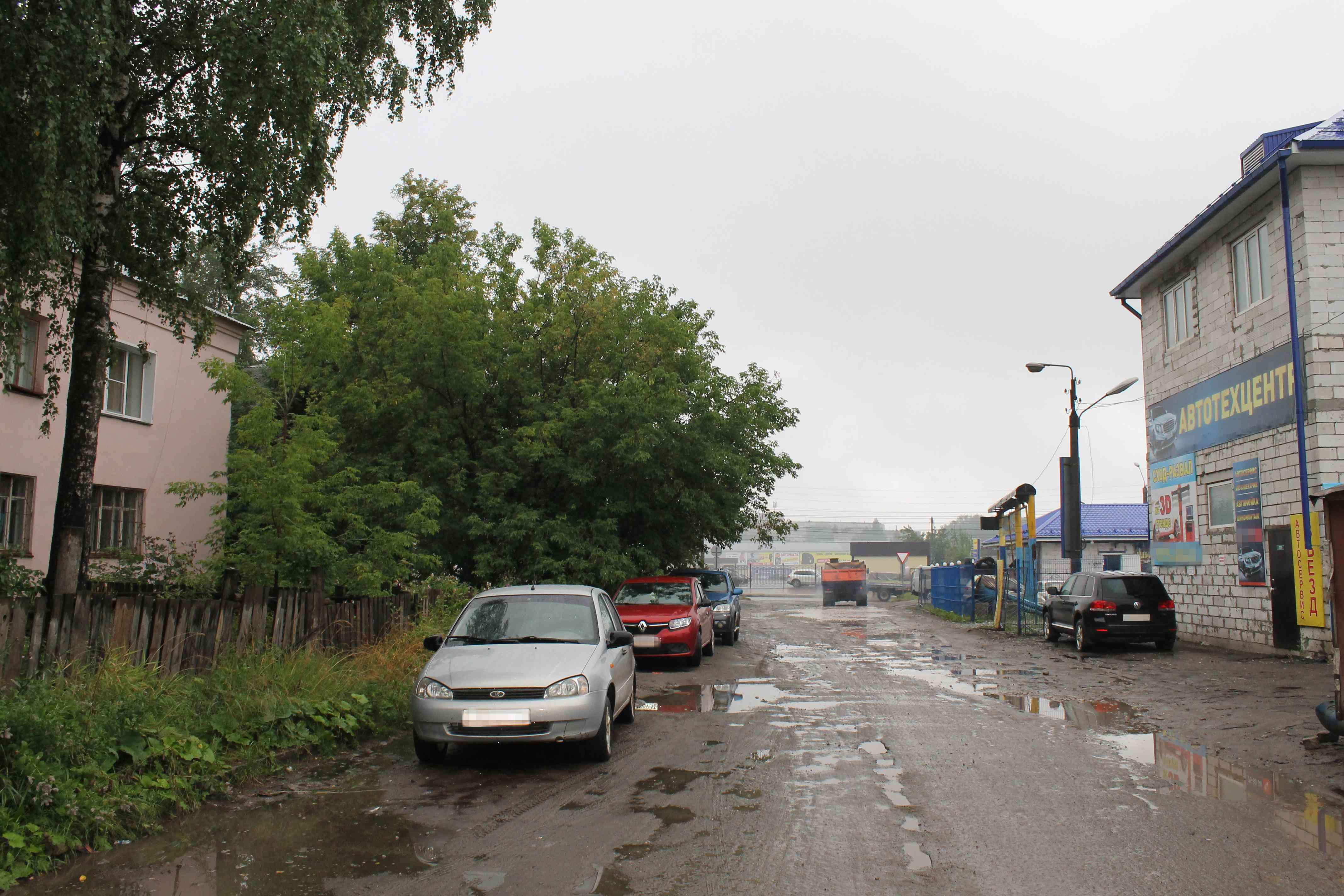 ОНФ: одна из крупных автомоек в Кирове работает незаконно