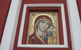 Московский художник сделал панно из мозаики для Спасского собора