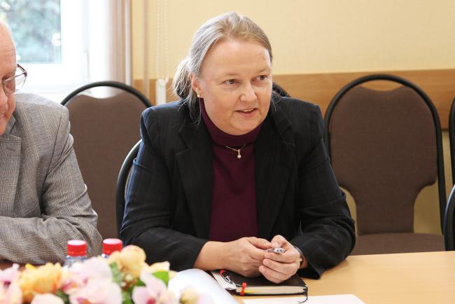 Гостьей ВятГУ стала второй секретарь Посольства ФРГ в Москве Зузанна Ахиллес